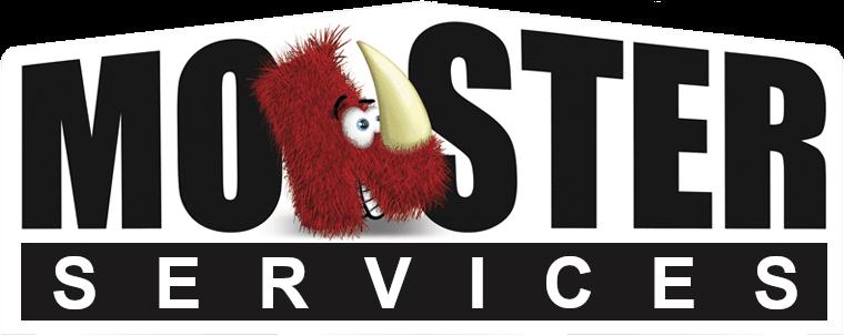 Monster Services Retina Logo